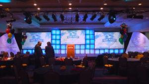 newport marriot corporate event